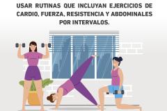 Instituto del Deporte explica la relevancia de la actividad física durante la cuarentena